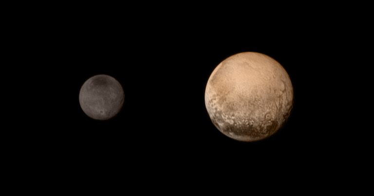 Caronte y Plutón