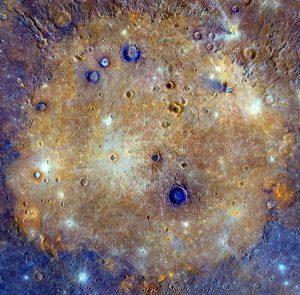 Cuenca Caloris de Mercurio