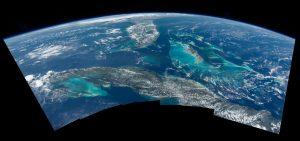 Florida, las Bahamas y Cuba vistas desde la Estación Espacial Internacional