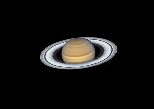 La última vista de Saturno del Telescopio Espacial Hubble de la NASA