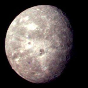 Oberón en Urano