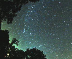 Un meteoro de Perseidas